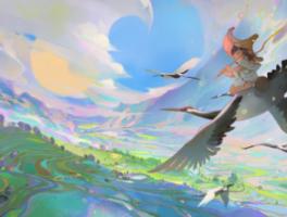 中教在线:游戏场景原画的构图小技巧分享